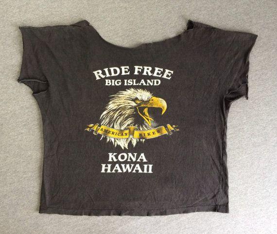 HARLEY DAVIDSON T-shirt 1988 Vintage/ 1980's DIY by sweetVTGtshirt