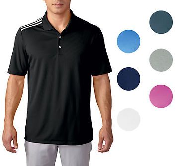 [$32.99 save 46%] Adidas Golf ClimaCool 3 Stripes Golf Shirt Mens CLOSEOUT New - Choose Color! #LavaHot http://www.lavahotdeals.com/us/cheap/adidas-golf-climacool-3-stripes-golf-shirt-mens/134745