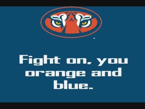 Auburn University Tigers - fight song with words - War Eagle