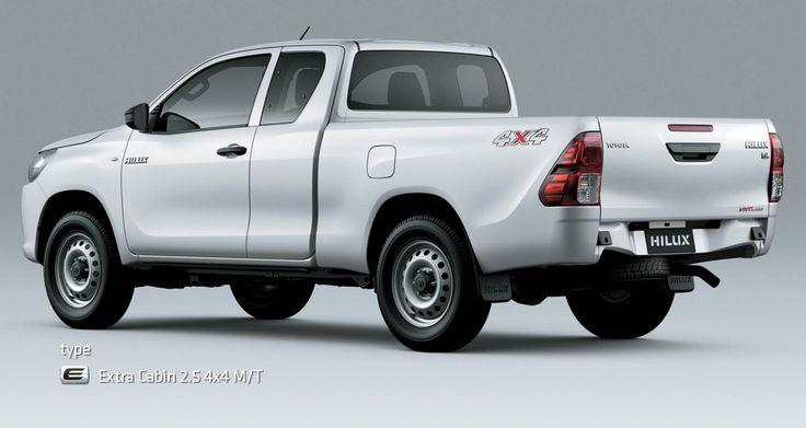 All New Hilux Type E 2.5 4X4 Extra Cabin - Exterior - Mobil Niaga Terbaik - AUTO2000