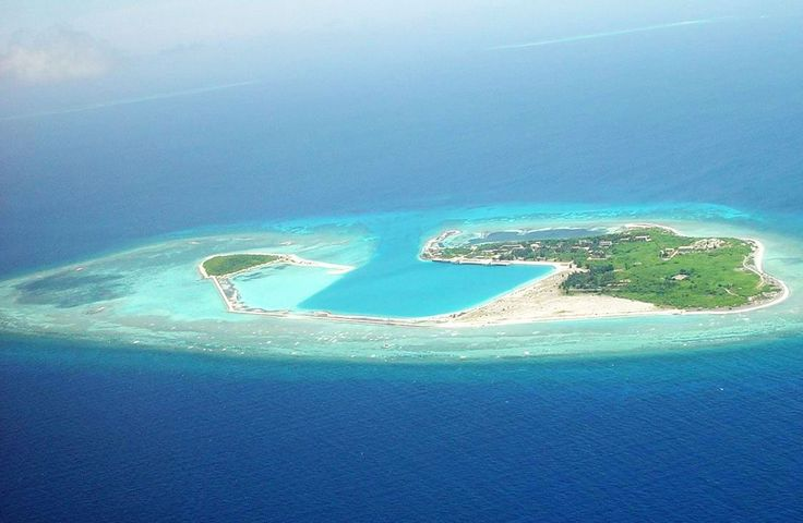 Barrier Islands | islands in the south china sea consist of over 130 small coral islands ...