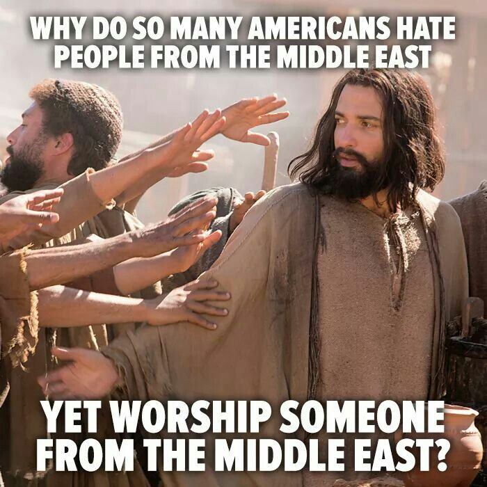 Ban or no ban, Jesus would be viewed today by Republicans as an extremist who offers free medicine for the sick, free clothing for the poor or less fortunate, offers food and other basic items free of charge to those who are in need.  Republicans would lose their shit and would try to deport him back to Israel.  Because he would be a threat to their political careers by being liberal in his efforts to help the less fortunate, the poor, the sick or disabled, and the homeless.