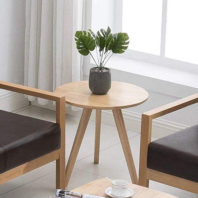 Amazon Com Krei Hejmo Solid Wood Coffee Tea Sofa Side Table 101