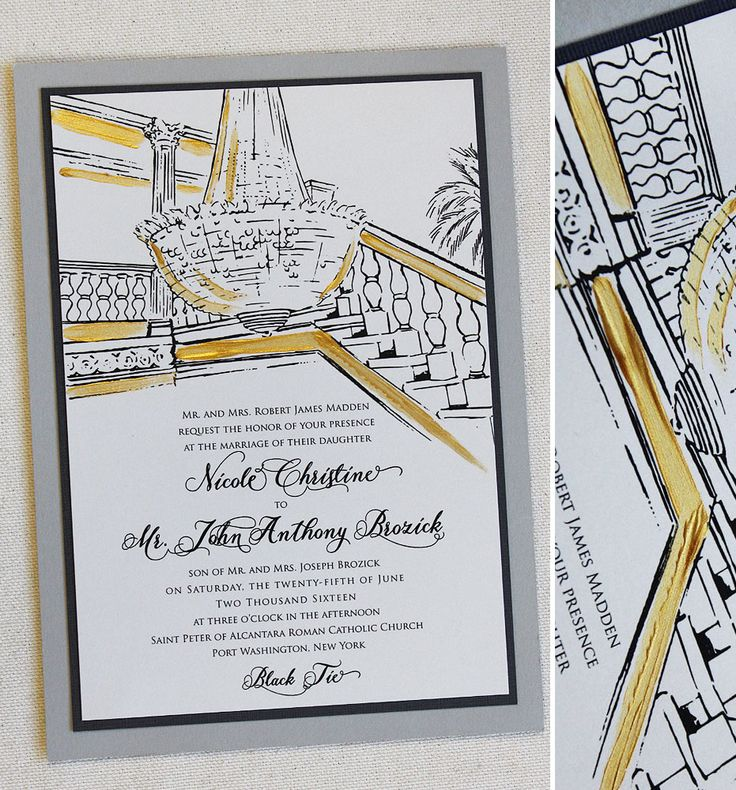 42 best Artistic Black Tie Wedding Invites images on Pinterest - fresh formal invitation to judges