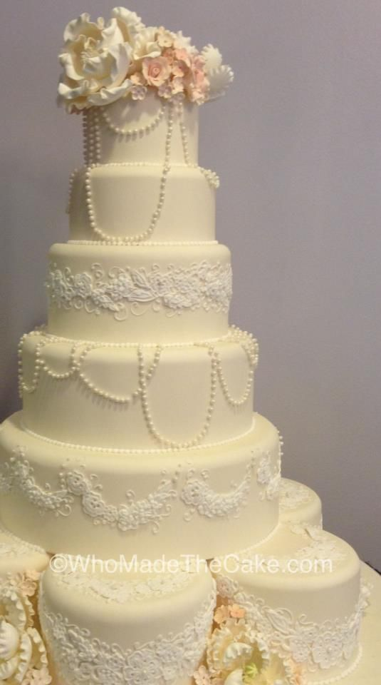 how to make a wedding cake amazing ivory and white wedding cake made by who made 4980
