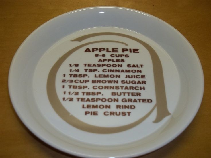 Epicure Fine China Pie Plate Apple Pie Recipe Toscany 10\  Deep Dish Washer Safe   & 124 best Recipe Pie Plates images on Pinterest   Dinner plates ...