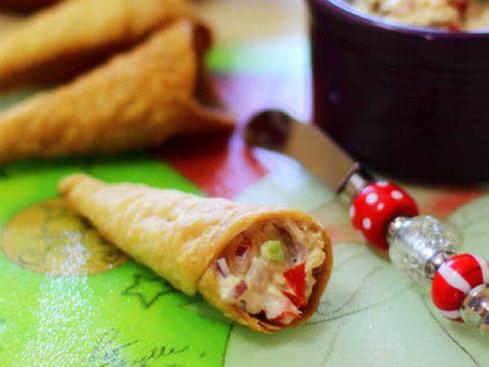Barquillas Rellenas de Atún - Mis recetas en Que Rica Vida #SazonBoricua