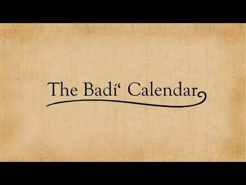 The Badi (Baha'i) Calendar