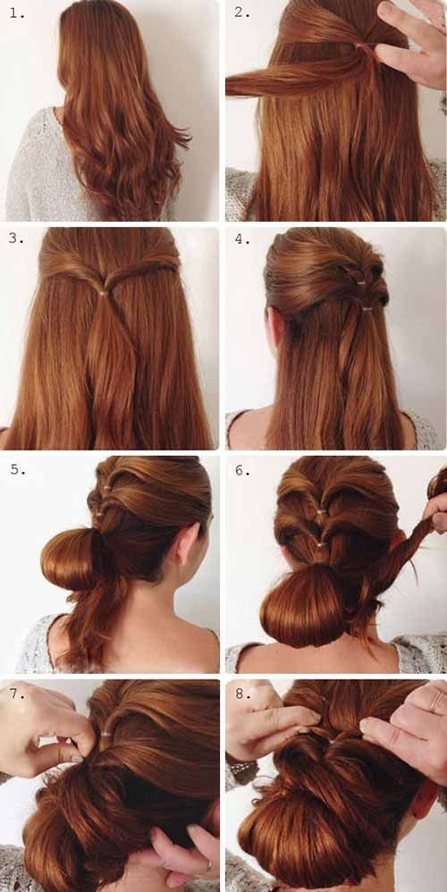 20 Stunning And Quick Updo Hairstyles In 2018 Hair Styles