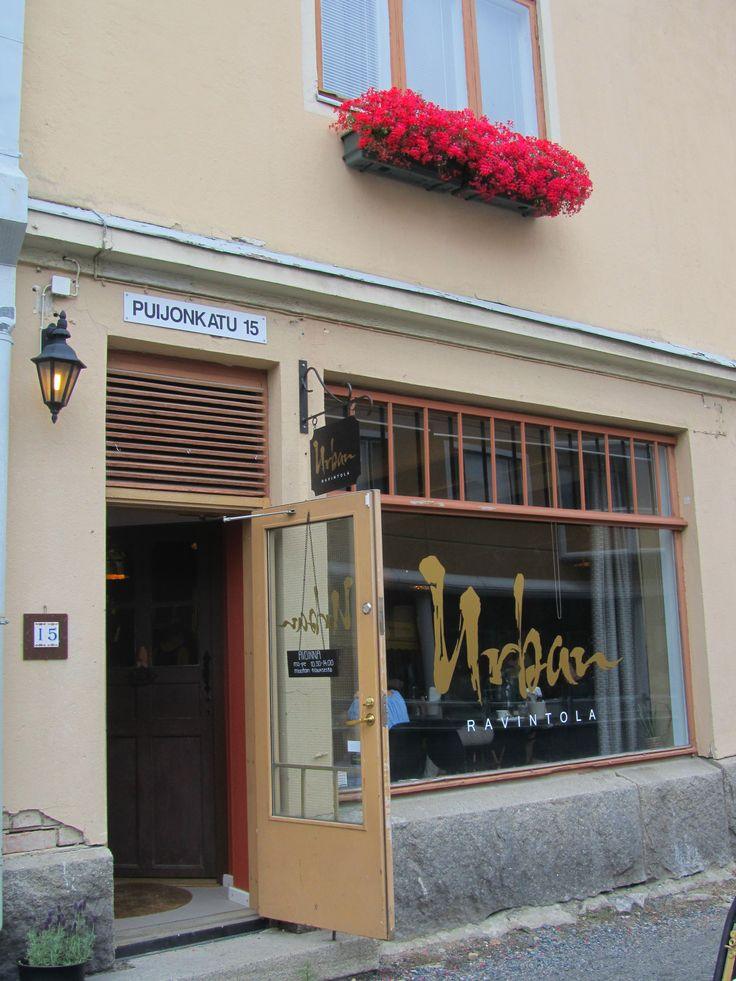 This little and very sympathetic restaurant serves only lunch from 10.30 to 14. but what kind of lunch and with very low price... Absolutely worth visiting. Restaurant Urban, Kuopio http://www.ravintolaurban.fi/