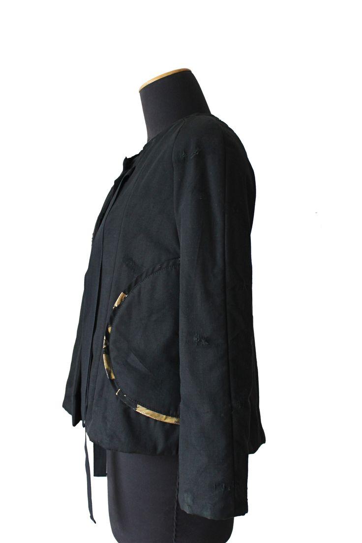 Padded jacket / Golden pockets