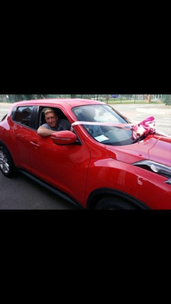 Here's @ChrisMaloney77 with his new Nissan Juke from @AscotMotorCars leasing co.