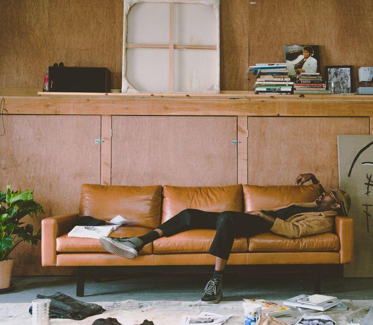 11 Stylish, Modern Leather Sofas Part 86