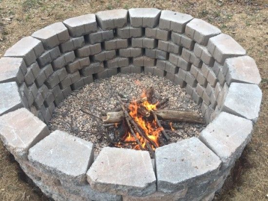 1000 Ideas About In Ground Fire Pit On Pinterest Fire