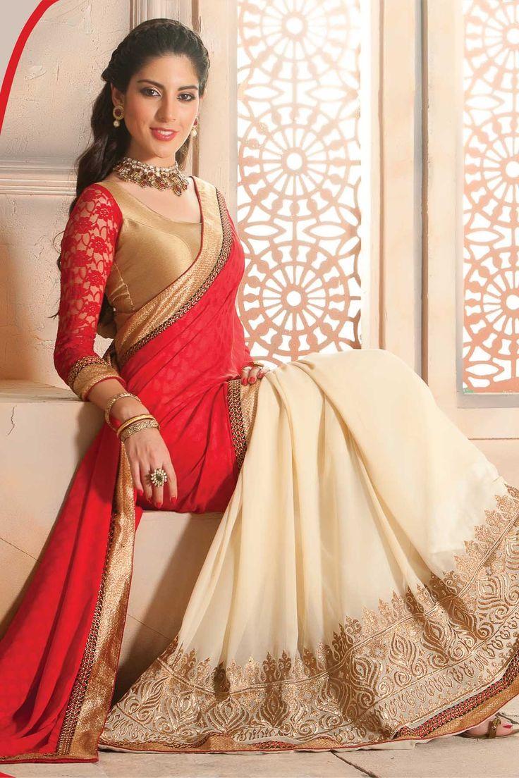 new arrivals look at samyakk latest trendy designer saree