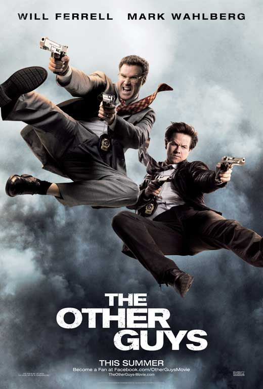 The Other Guys - Two mismatched New York City detectives seize an opportunity to step up like the city's top cops whom they idolize -- only things don't quite go as planned.