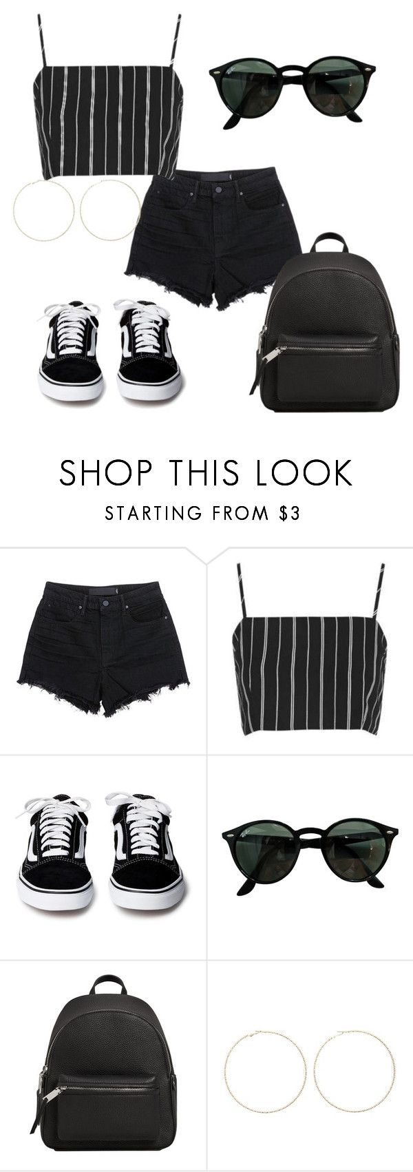"""""""Untitled #561"""" by vickyagh on Polyvore featuring Alexander Wang, Topshop, Ray-Ban, MANGO and Forever 21"""