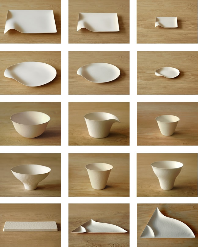 The Japanese WASARA tableware above literally has to be seen to be believed. It is so so beautiful. Made from a combination of reed bamboo and b\u2026  sc 1 st  Pinterest & The Japanese WASARA tableware above literally has to be seen to be ...