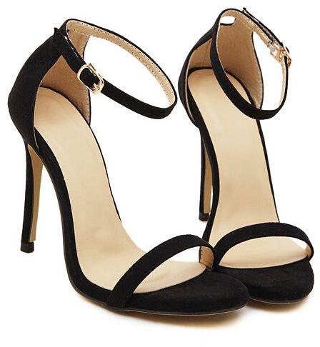 Best 20  Black strappy heels ideas on Pinterest | Strappy heels ...