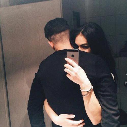 hidden face couples selfie #couplegoalspicturesromantic