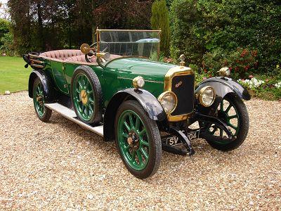 1919 Belsize 15/20HP open tourer
