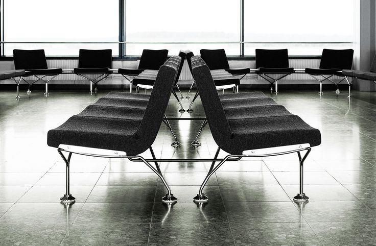 Arlanda Airport, Sweden. Products: A-Line, Millibar Barstool
