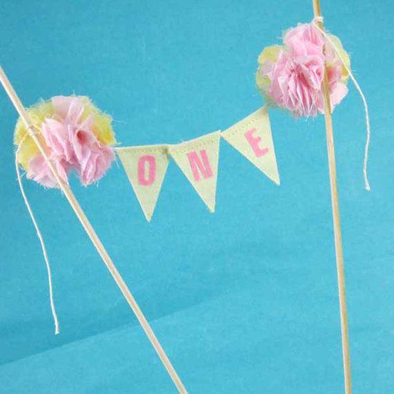 Pink Lemonade Cake Smash First birthday cake by Hartranftdesign