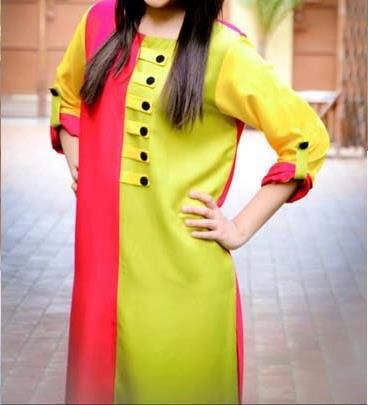 Affordable Stylish Kurtas Collection 2013 For Women 011