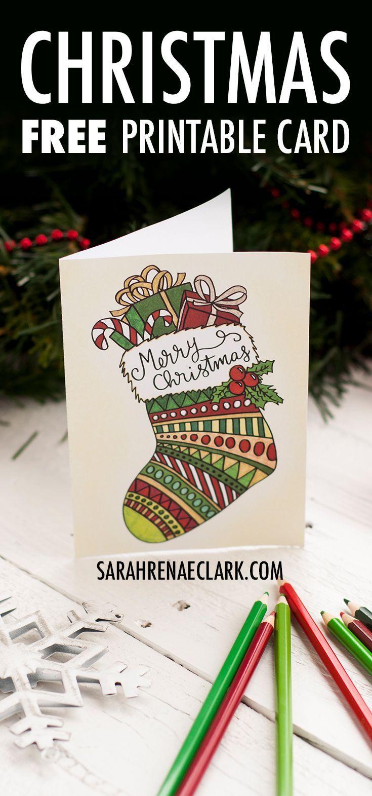 Free Christmas Card Printable Template Coloring Page Christmas Card Free Printable Christmas Cards Christmas Coloring Cards Printable Christmas Cards