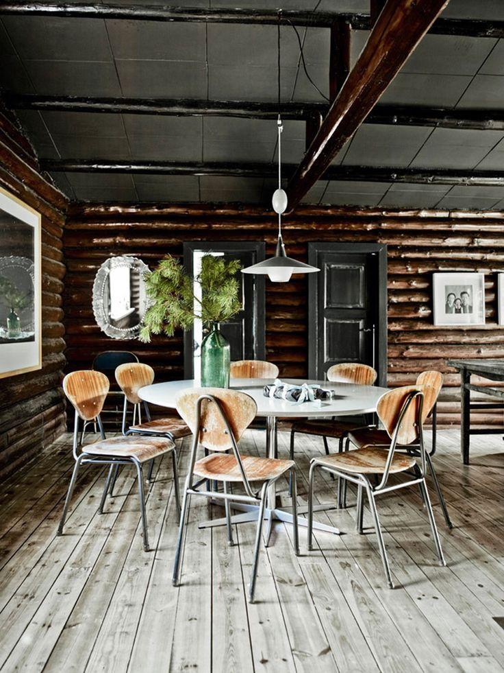 Copenhague : Chalet danois / La maison de Stine Christa Engel Busk. Photos : Birgitta W. Drejer