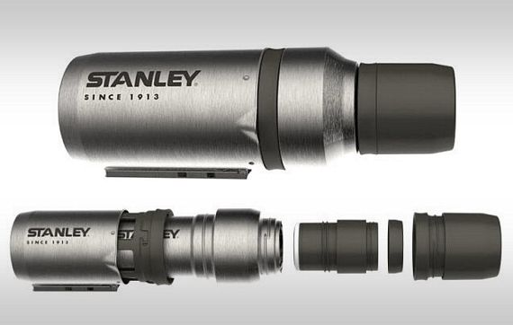 3-in-1 Stanley Vacuum Coffee System Turns Into A Pot For Boiling Water And A French Press For Making Coffee