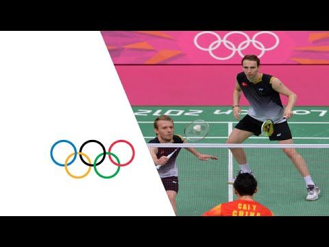 Men's Badminton Doubles Gold Medal Match - China v Denmark | London 2012...