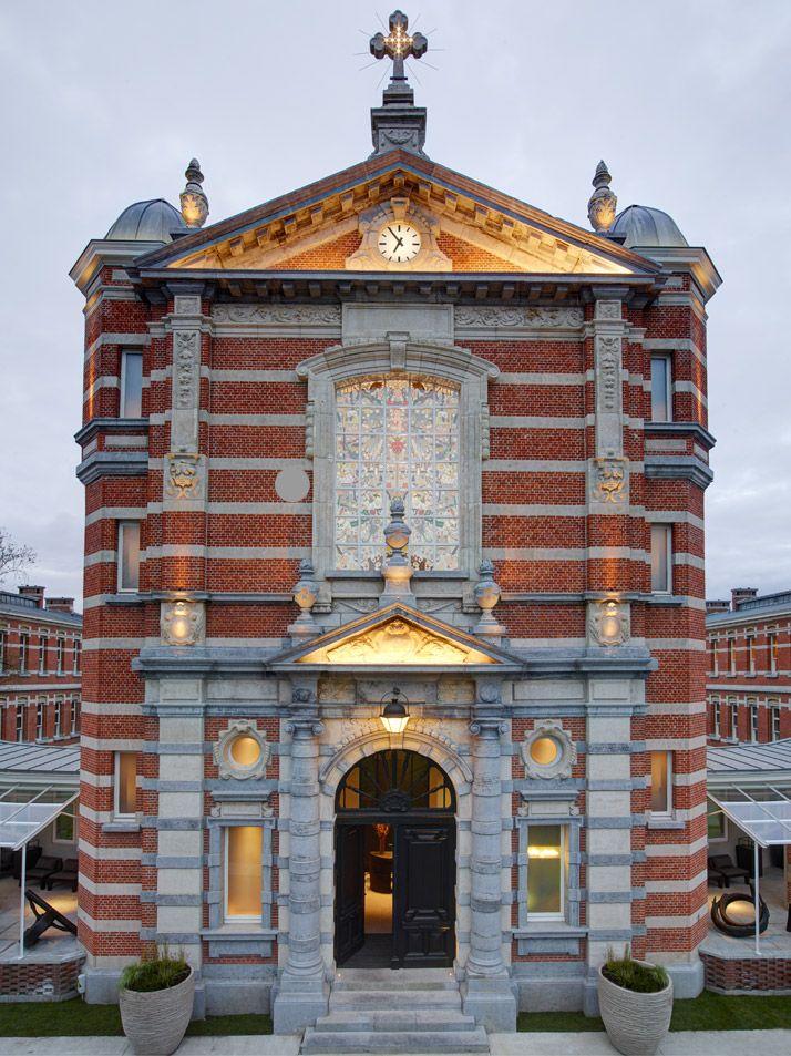 Piet Boon Studio Transformed A church Into 'The Jane' Restaurant in Antwerp | http://www.yatzer.com/the-jane-antwerp-piet-boon photo by Richard Powers.