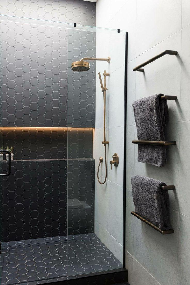 Tiles in the shower