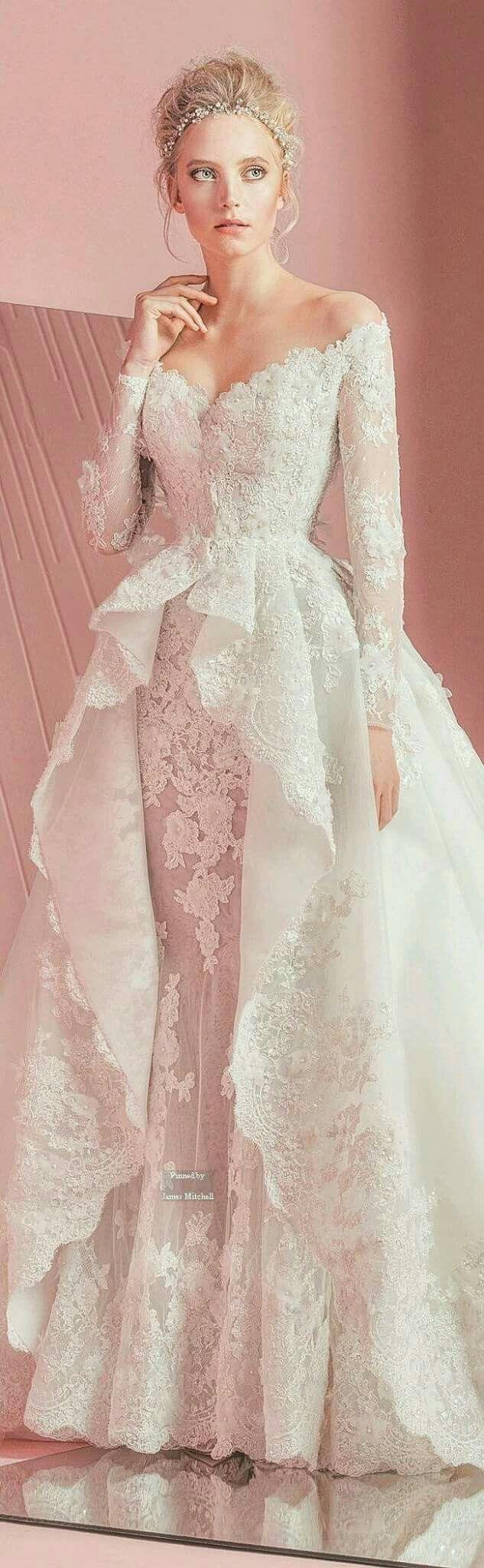 58 best Vestidos de boda images on Pinterest | Bridal gowns, Gown ...