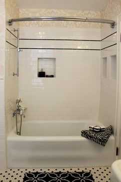 1920's style bathroom - Google Search built in storage