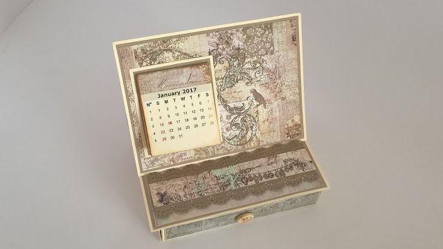 Άρωμα Δαντέλας: Desktop Calendar