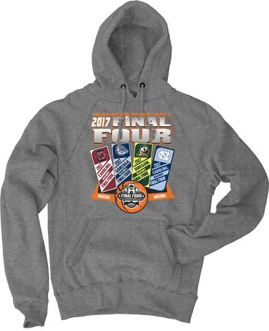 Shop 2017 NCAA Final Four March Madness Basketball Ticket Hoodie Sweatshirt