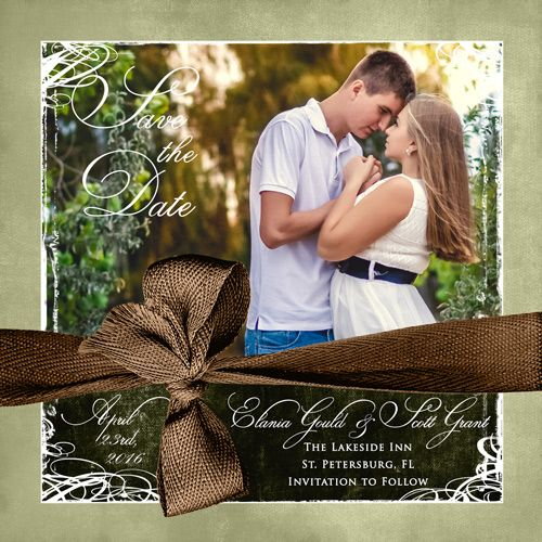 You've found that special someone and are going to spend the rest of your life together! A save the date card is a great way to express your love and happiness, while reminding your friends and family about your special day. These wedding save the date wording ideas can be in any style, so tweak the wording to suit your personality...