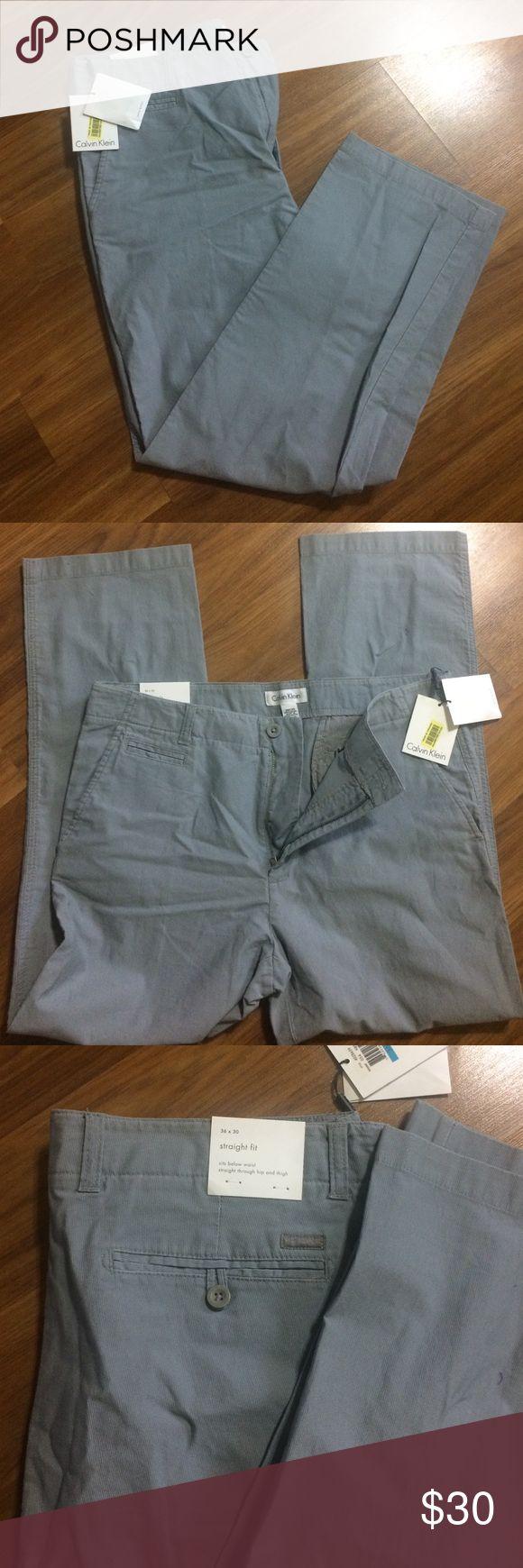 Calvin Klein strait fit pants Nice mans pants,size 36/30,100% cotton Calvin Klein Pants