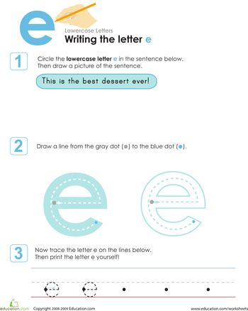 Best Worksheets Letter Images On   Handwriting