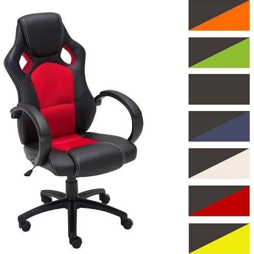 de clr gaming stoel racing bureaustoel