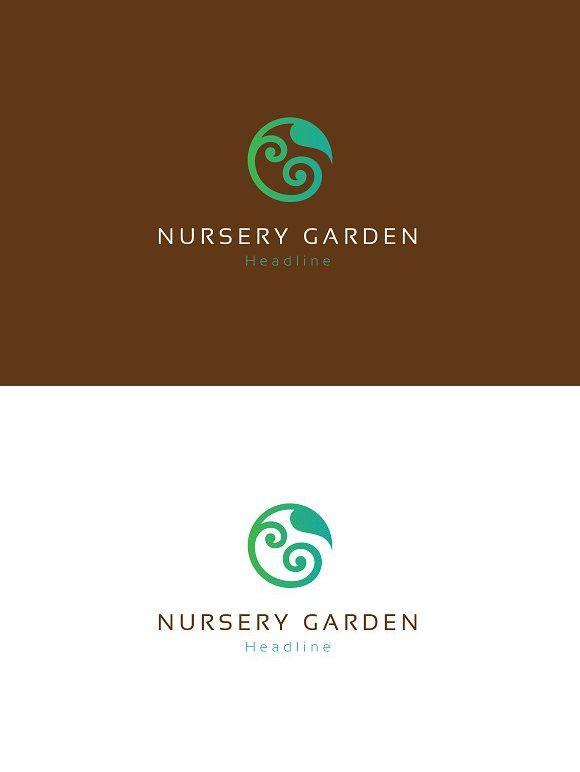 Nursery Garden Logo Nursery Logo Design Daycare Logo Design Graphic Design Logo