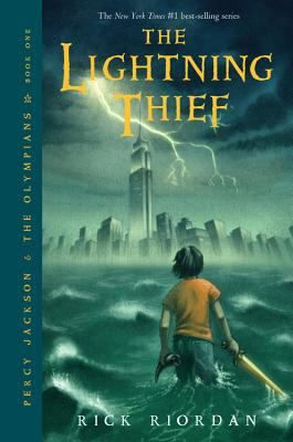 The Lightning Thief by Rick Riordan: After learning that he is the son of a mortal woman and Poseidon, god of the sea, twelve-year-old Percy is sent to a summer camp for demigods like himself, and joins his new friends on a quest to prevent a war between the gods.