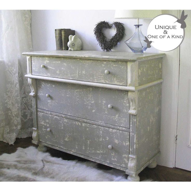Love Me Distressed Chest of Drawers | Shabby Chic Chest - French Bedrooms