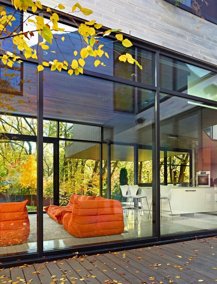 Cedarvale Ravine House Designed By Drew Mandel Architects: Cedarvale House Designed By Drew Mandel Architects