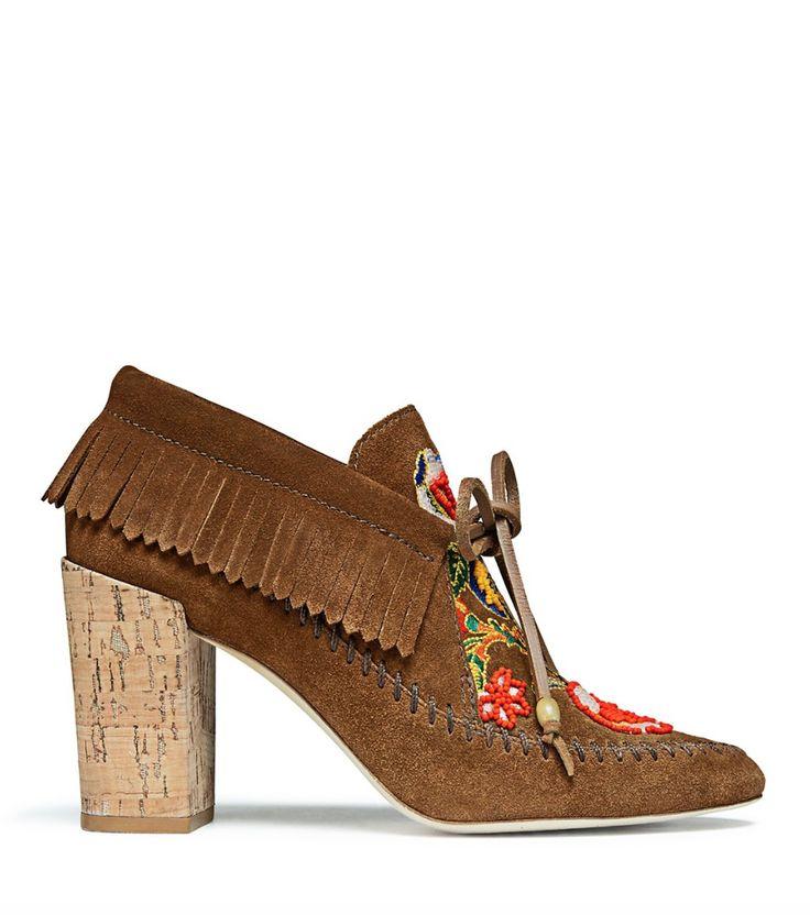 Suede SALINAS shoes Spring/summerTory Burch 29ZnQDRO