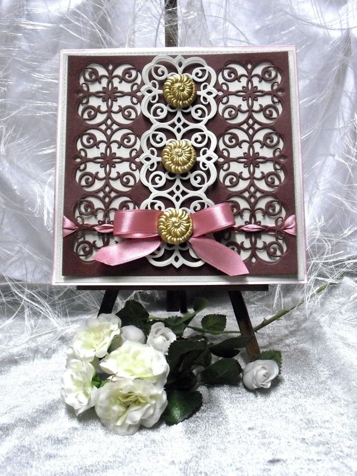 22 Best Images About Spellbinders Mary Border Cards On Pinterest ... Bder In Grau