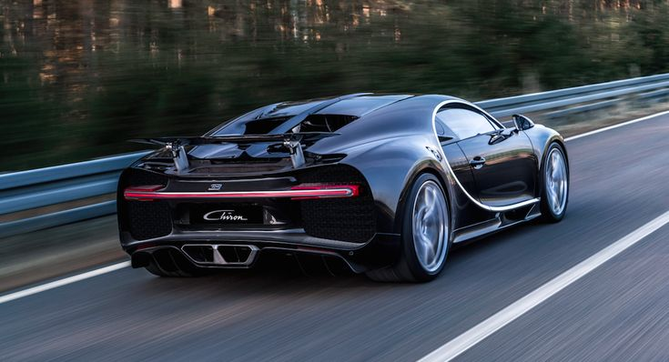 The Incredible Tech In The New Bugatti Chiron, The World's Most Powerful Production Car