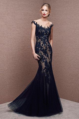 Elige el mejor diseño de vestidos largos si te estas preparando para una fiesta a la noche. Selecciona la mejor idea para tu cuerpo.